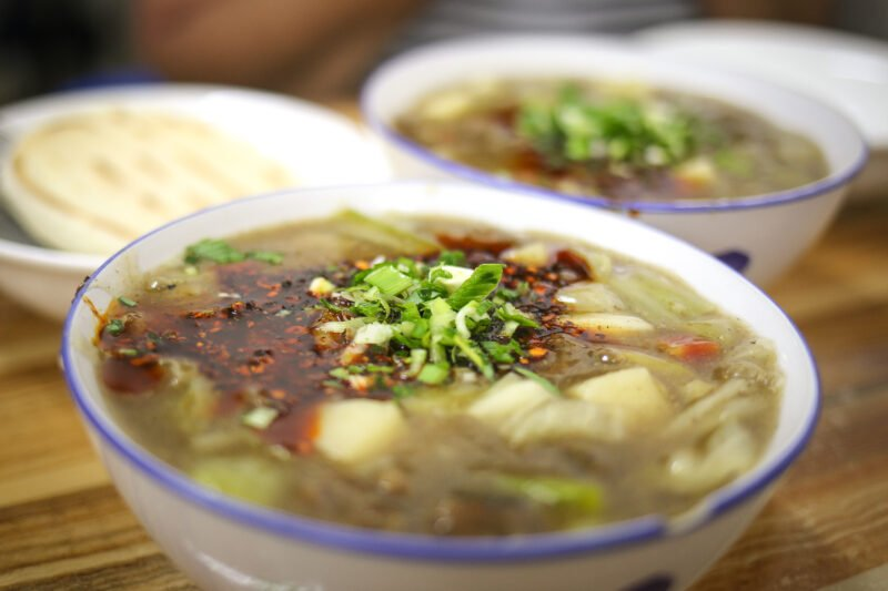 Get A Bowl Of Xian's Favorite Breakfast During Our Xian Morning Food & Market Tour