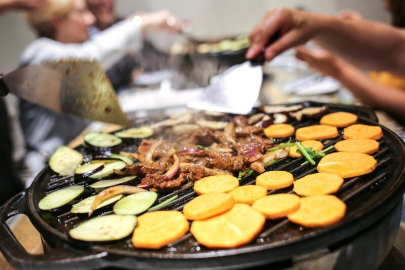 Grill And Season Your Own Meat And Vegetables At A Traditional Beijing Bbq Joint In Our Beijing Evening Hutong Food Tour