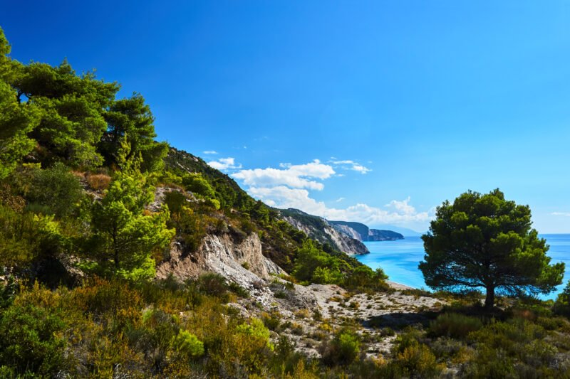 Join Us To Our Eastern Lefkada Hiking Tour From Kolivata!