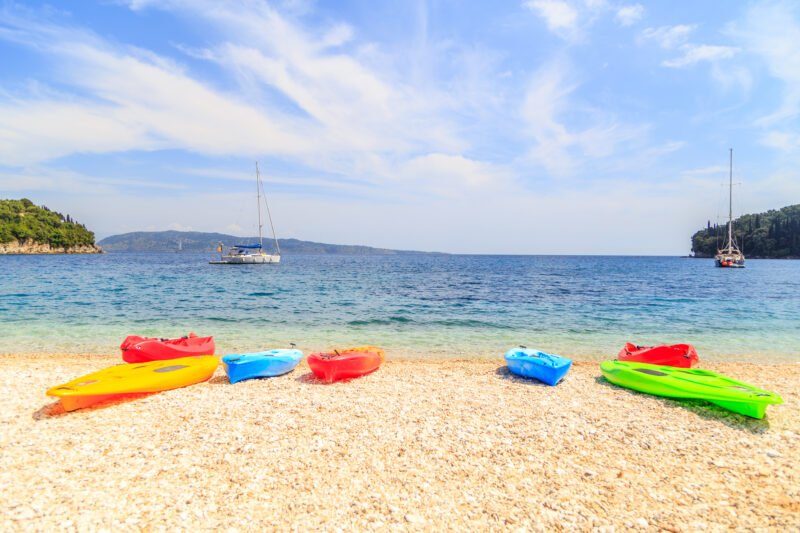 Join Us To The Half Day Sea Kayak Tour From Poros (lefkada)