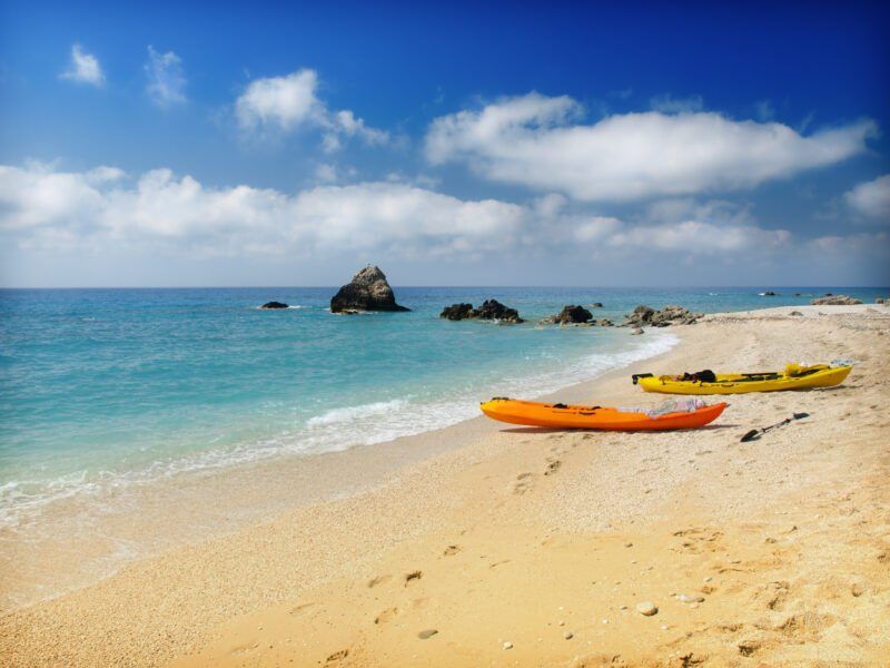 Join Us To The Lefkada Sea Kayak And Camping Adventure 3 Day Package Tour