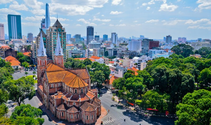 Marvel The Church Of Notre Dame On The Ho Chi Minh Half Day City Tour