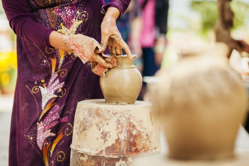 On Some Days You Will Visit The Bat Trang Pottery Village On The Insider Hanoi City Tour