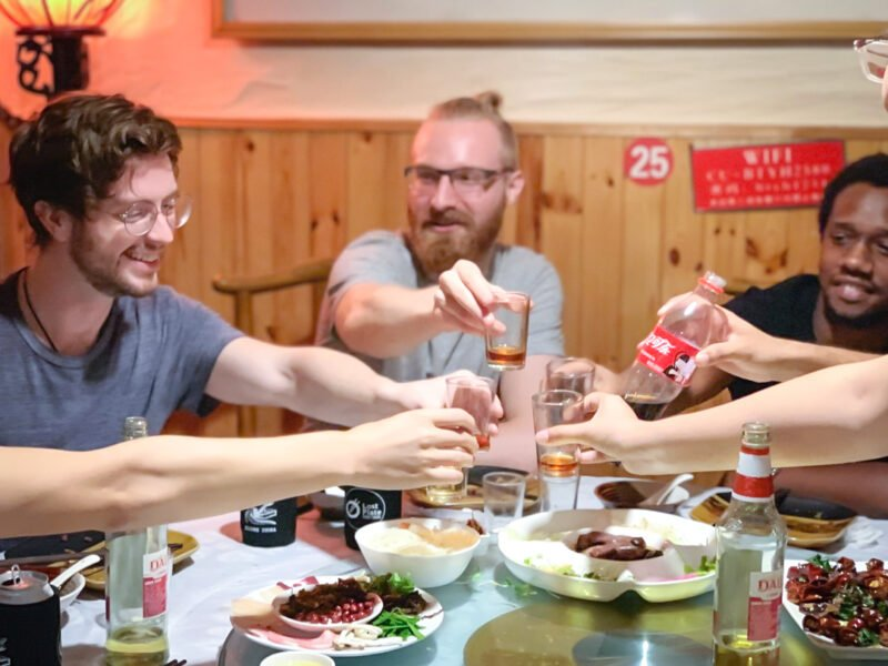 Sample Local Beverages Paired With Each Cuisine Such As Freshly Made Fruit Juice, Tea And Beer During Our Flavours Of China Beijing Restaurant Tours