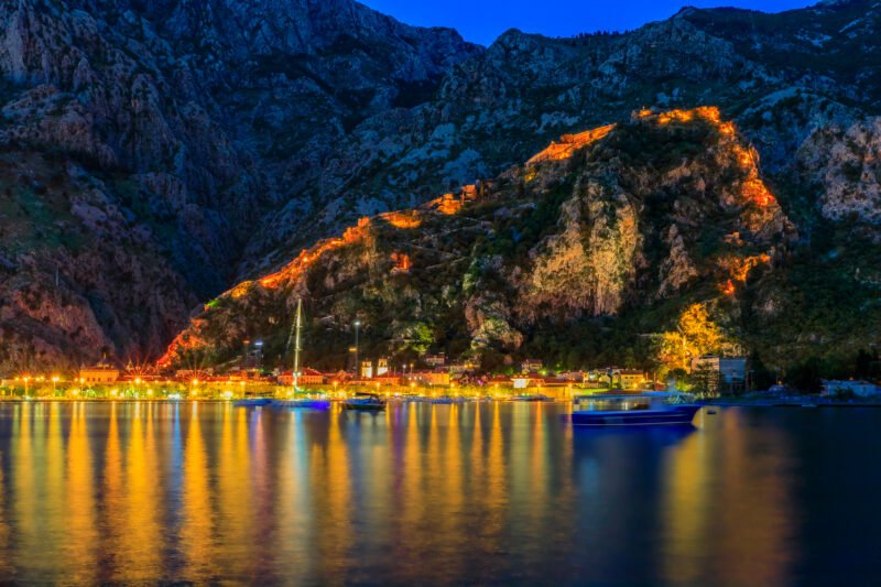Spend Memorable Time On A Spacious Custom-made Trimaran Sailing Along Boka Bay In Our Sky Cinema Tour