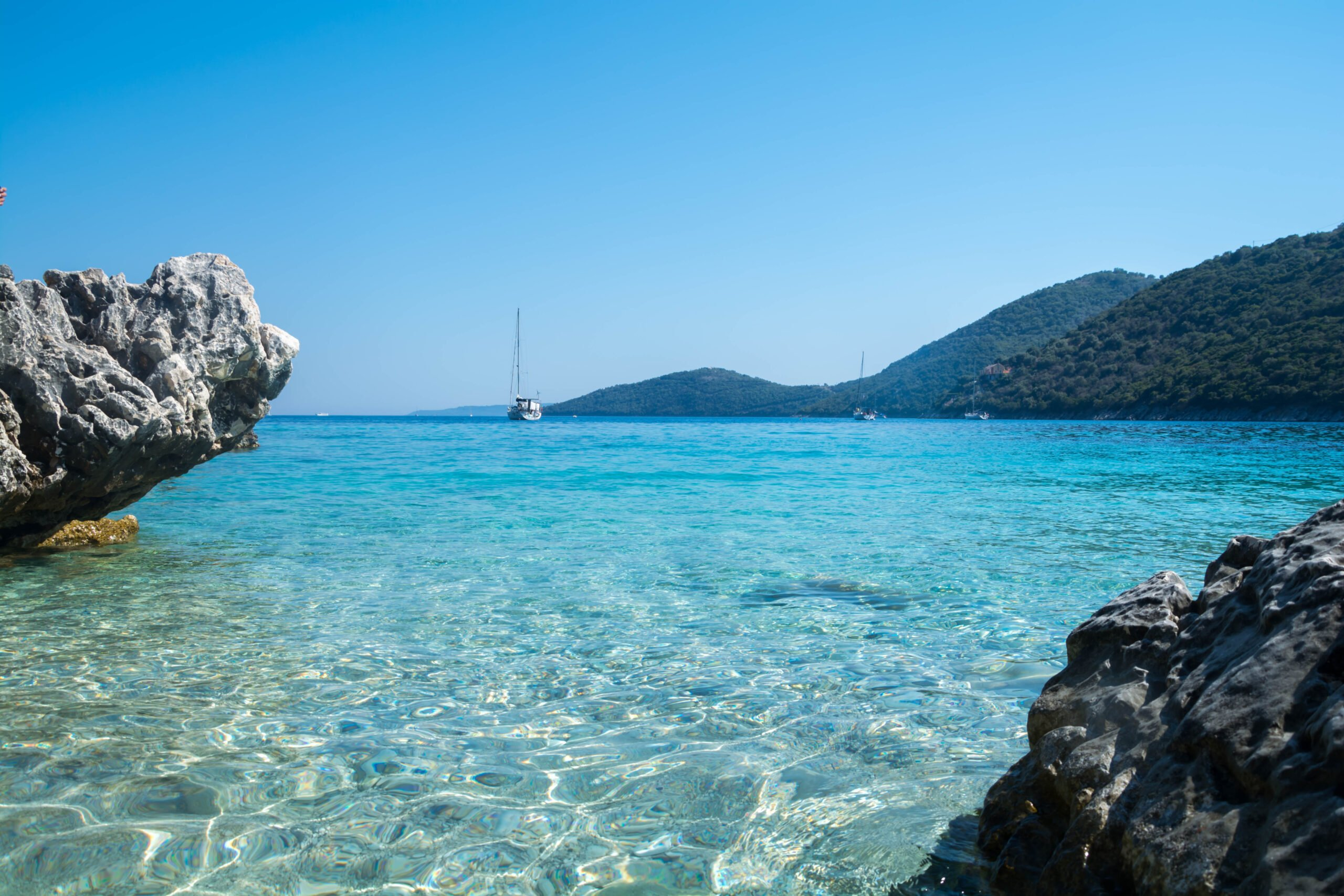 Start Your Half Day Sea Kayak Tour From Poros (lefkada) From Poros