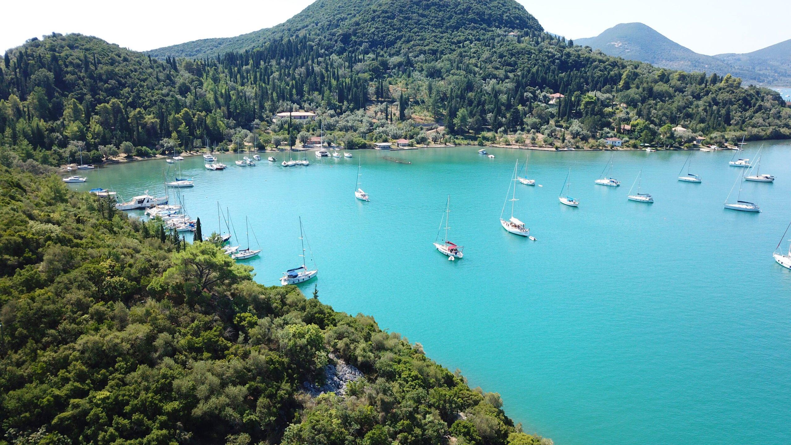 Start Your Nydri, Skorpios, Meganisi Sea Kayak Tour From Lefkada At Nidri Port