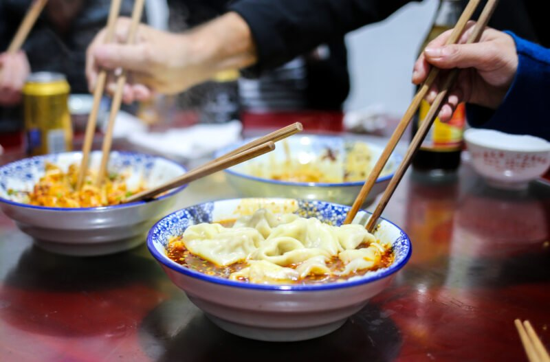Try The Best Version Of Chengdu Most Popular Street Snack, During Our Chengdu Evening Food Tour
