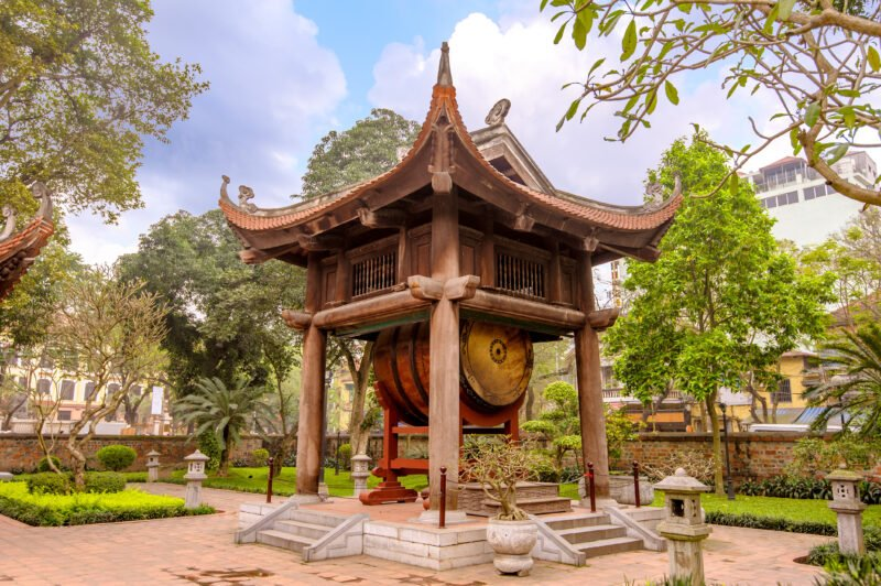 Visit The Temple Of Literature During The Insider Hanoi City Tour