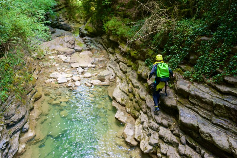 Amazing Water Adventure In Our Somosierra Canyoning Adventure Tour From Madrid