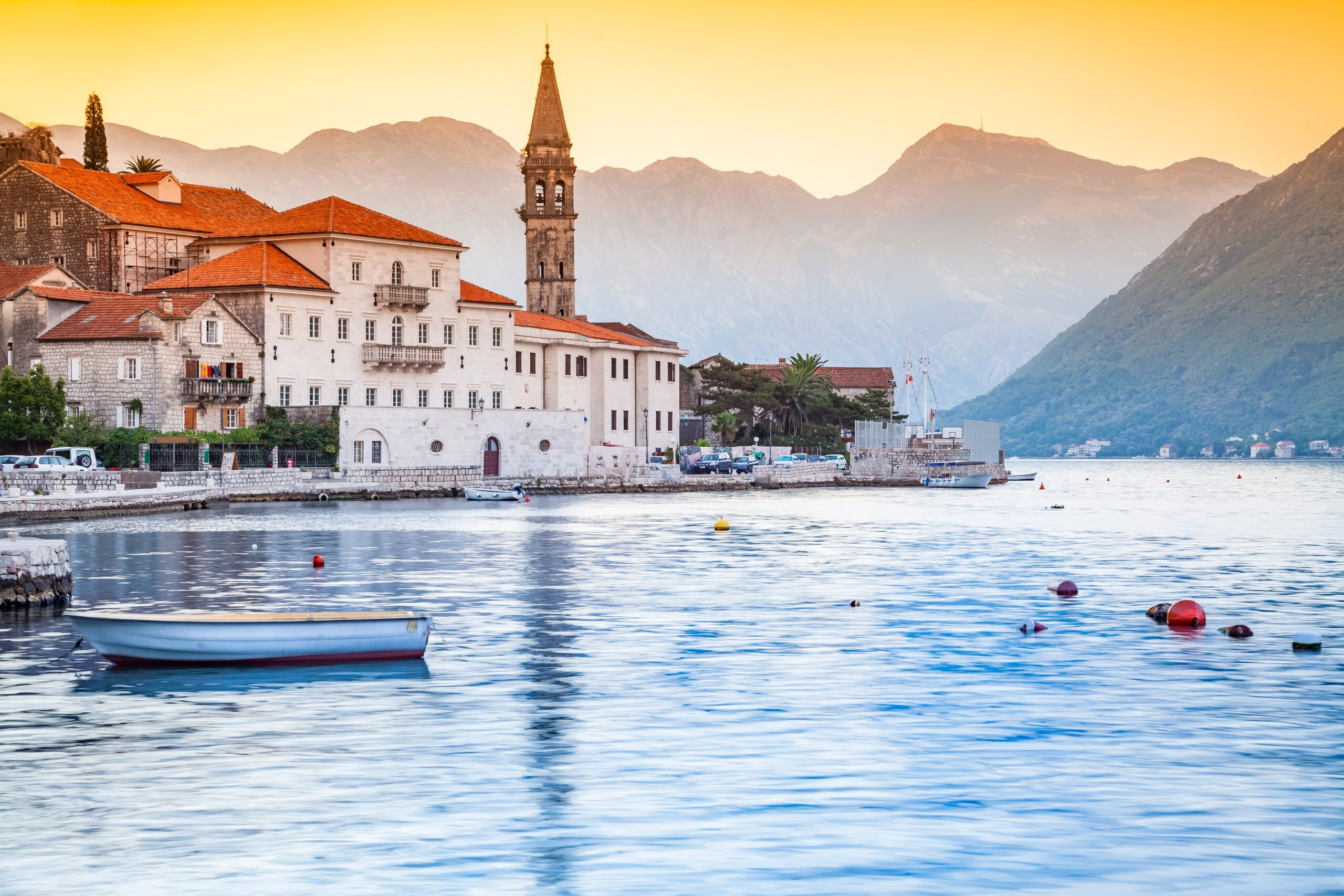 Enjoy The Beautiful View Of Kotor Old Town In Our Kotor Shore Tour