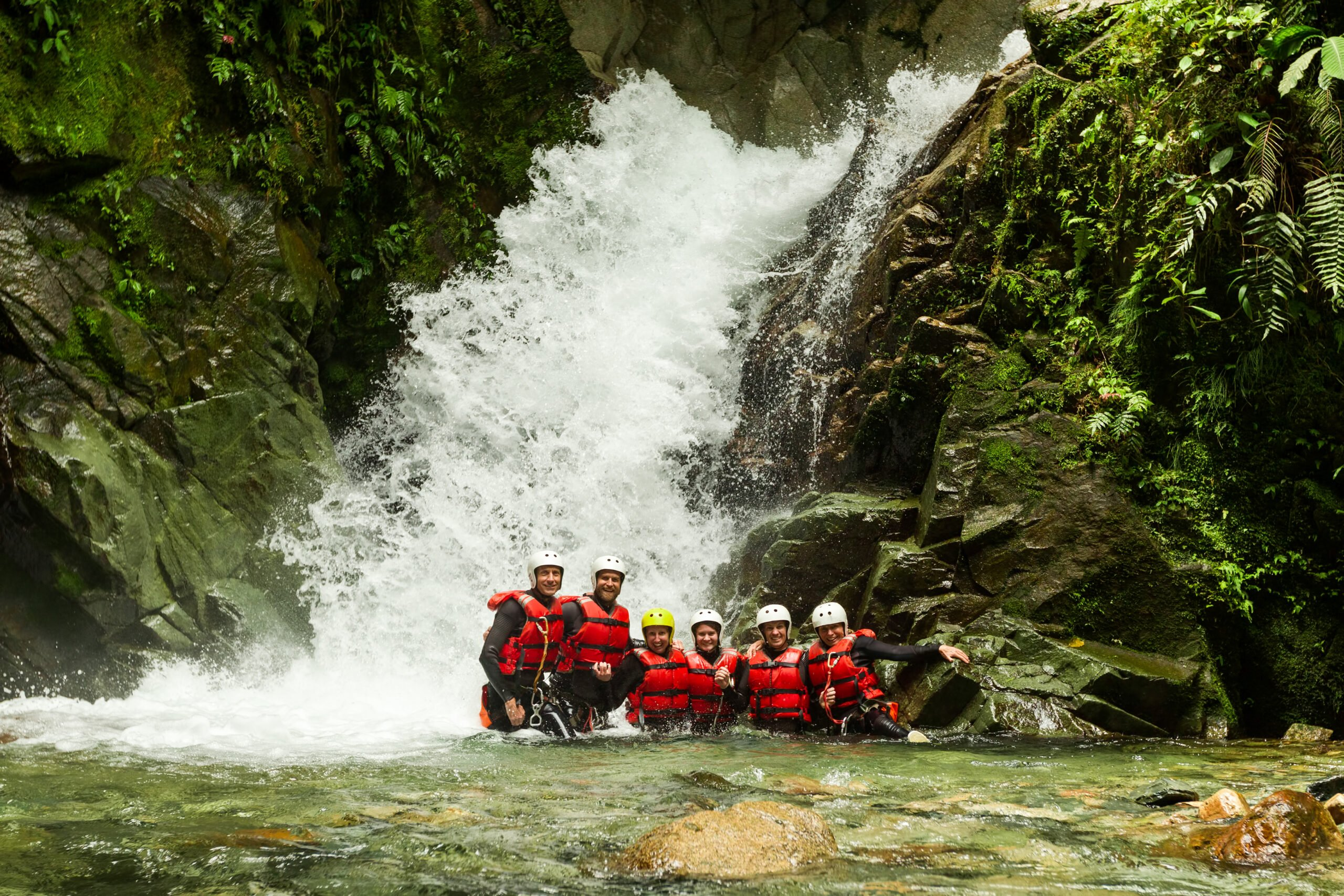 Refreshing, Fun And Exciting Water Activity In Our Cuenca Canyoning Adventure Tour
