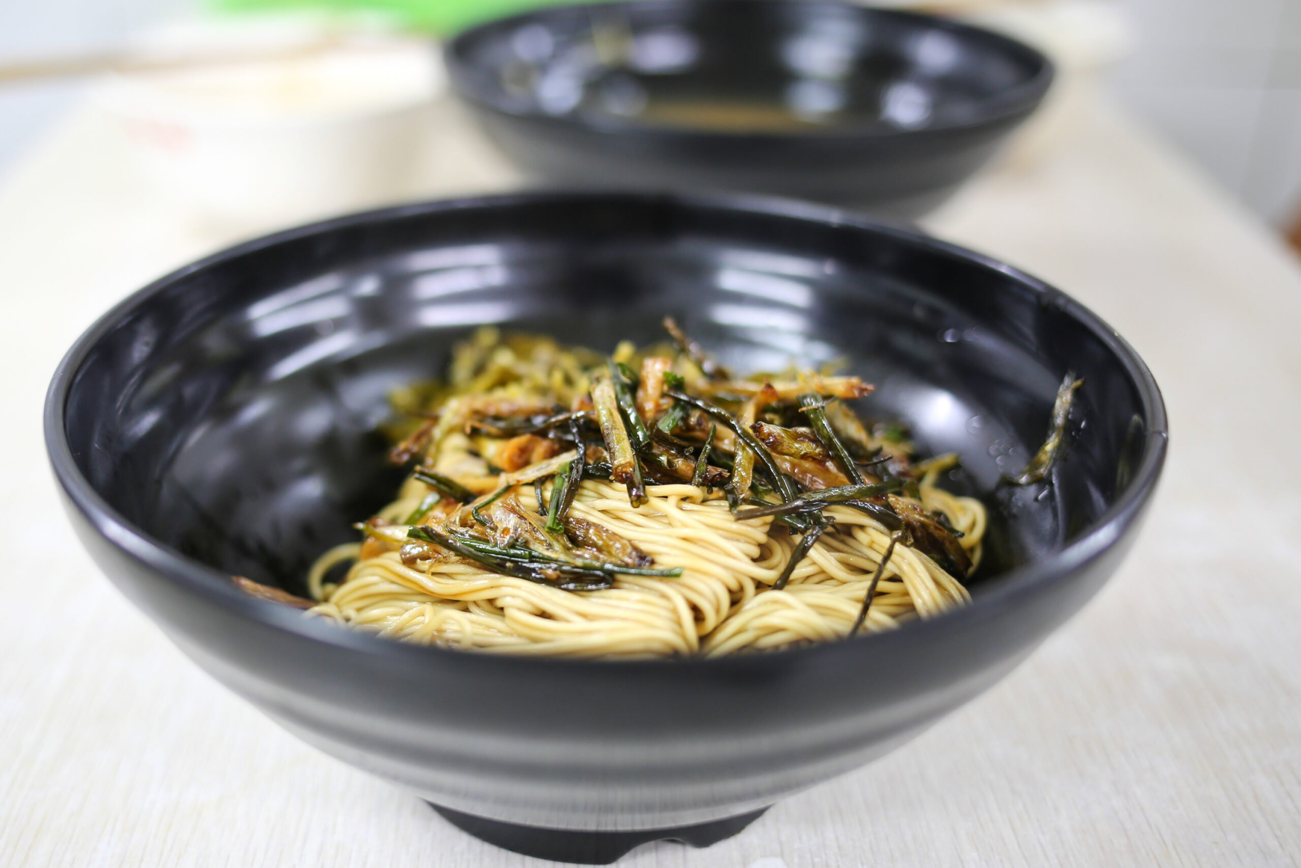 Try Scallion Noodles During Our Shanghai Evening Food Tour