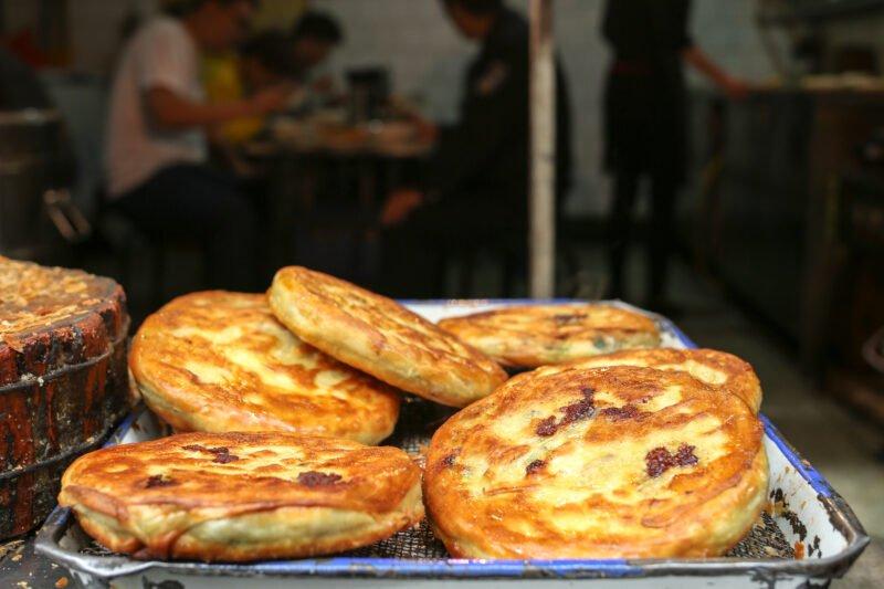 Taste Fried Beef Pancakes During Our Xian Morning Food & Market Tour