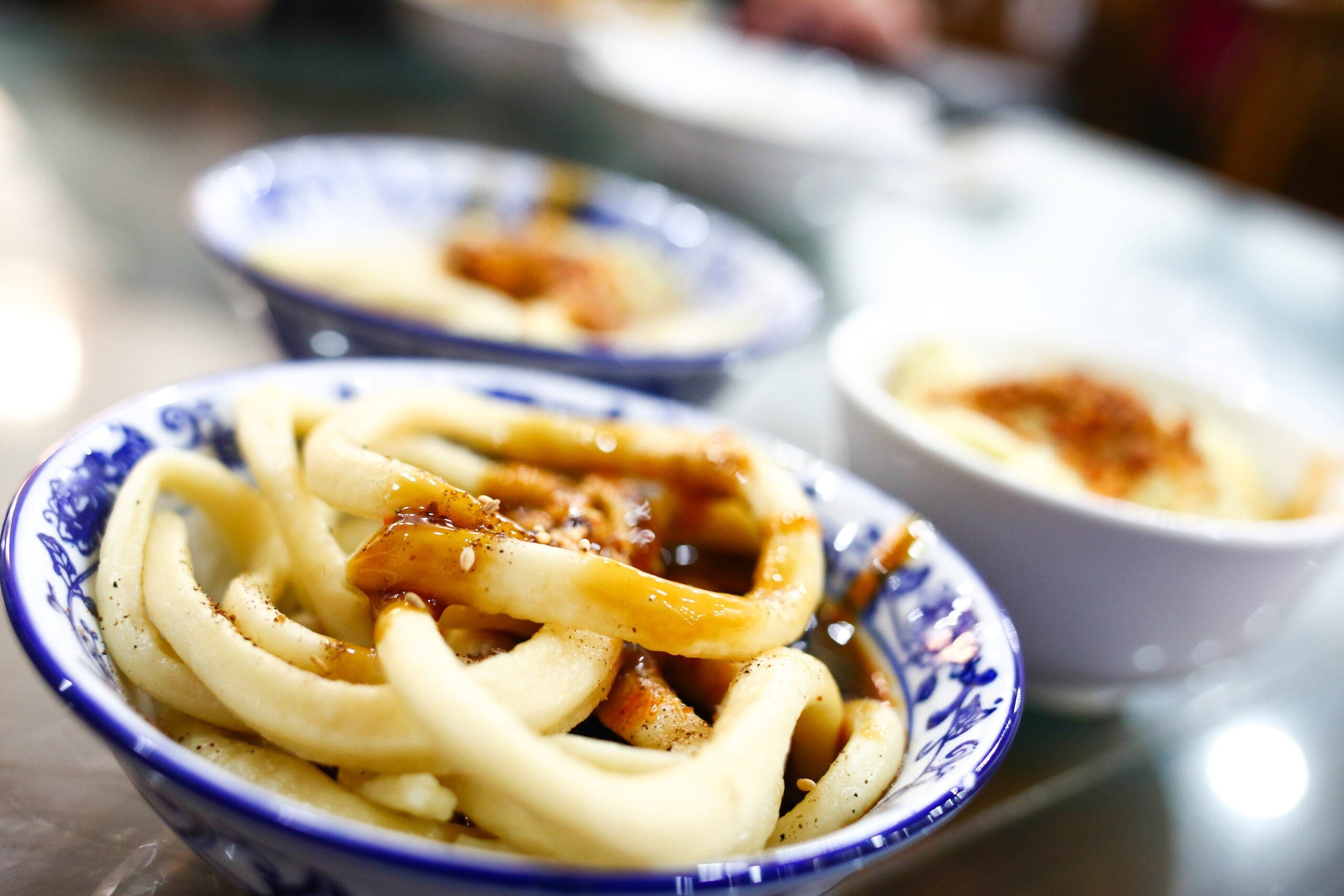 Taste Local Tianshui Noodles During Our Chengdu Evening Food Tour