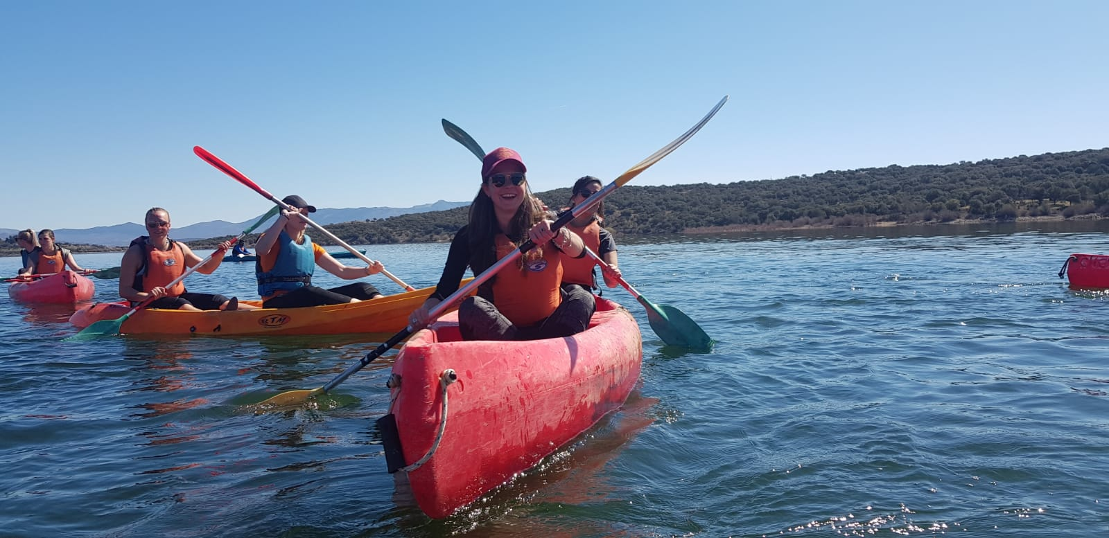 A Fun Outdoor Activity For Everybody In Our Guadarrama National Park Kayaking Adventure