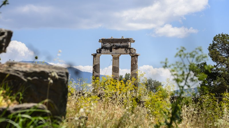 A Highlight Will Be The Visit Of The Ruins Such As Delphi On The 6 Day Classic Greece Self- Driving Adventure Package Tour_70