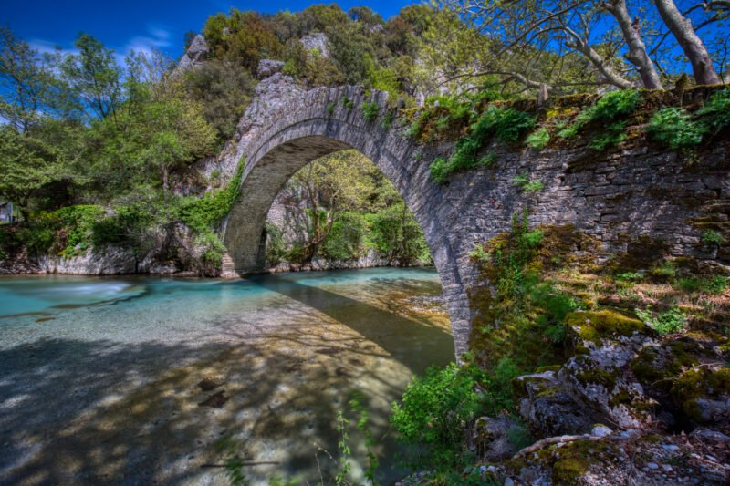 Admire The Famous Bridges Over The River On The Voidomatis Gorge Hiking Tour From Klidonia Village - Ioannina