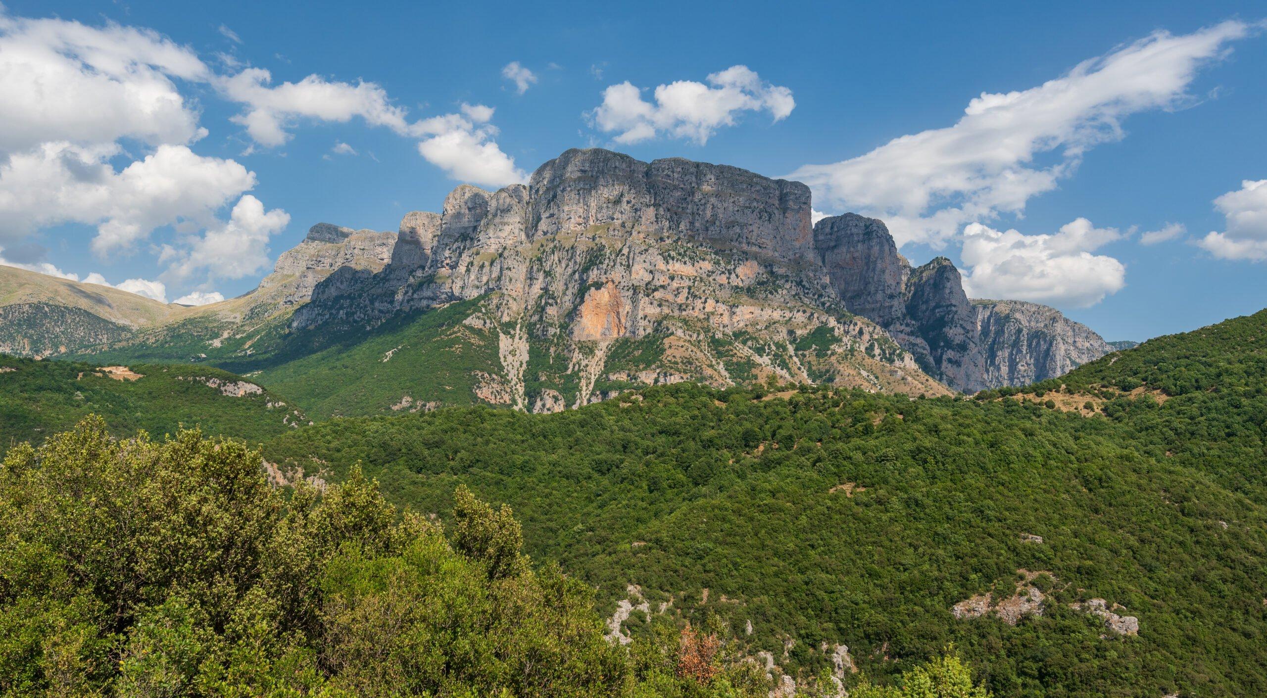 Admire The Mountain Views On The Alpine Dragonlake Hiking Tour From Papigko Village - Ioannina