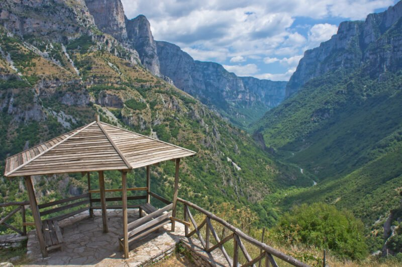Admire The Stunning Views On The Vikos Gorge Hiking Tour From Monodendri Village - Ioannina