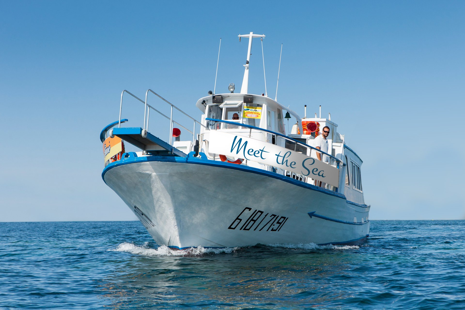 Amazing Water Activity In Our Meet The Sea - Ibiza Sailing Tour