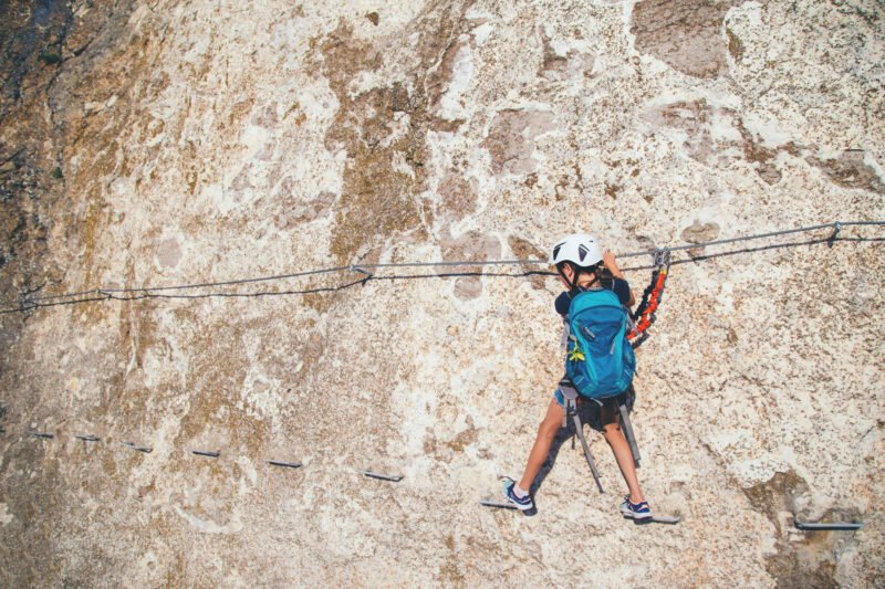 An Exciting Adventure In Our Via Ferrata Adventure Tour From Madrid