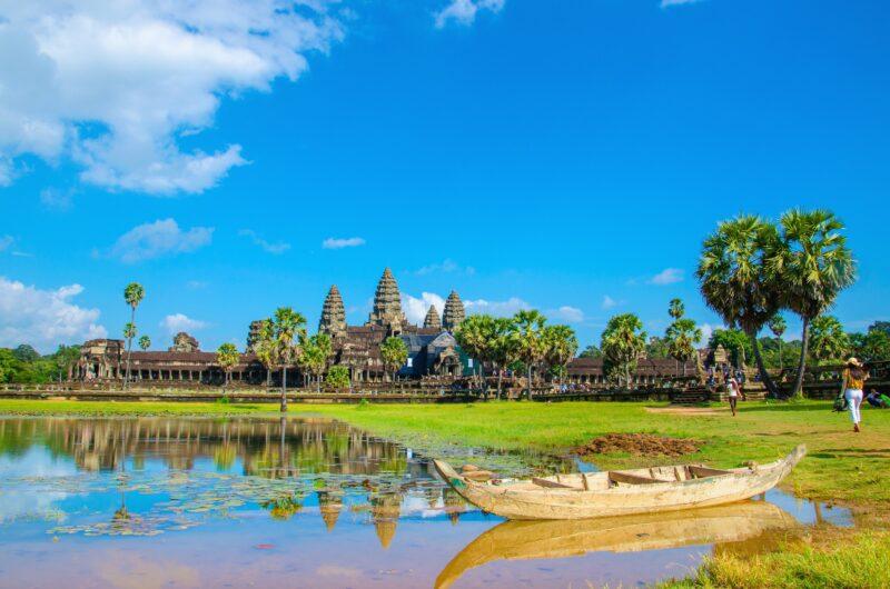Arrival In Siem Reap