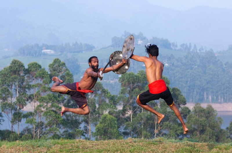 Attend A High Energy Kalaripayattu Performance, The Traditional Martial Arts Of Kerala In Our 3 Day Wildlife And Culture Tour Of Thekkady From Kochi