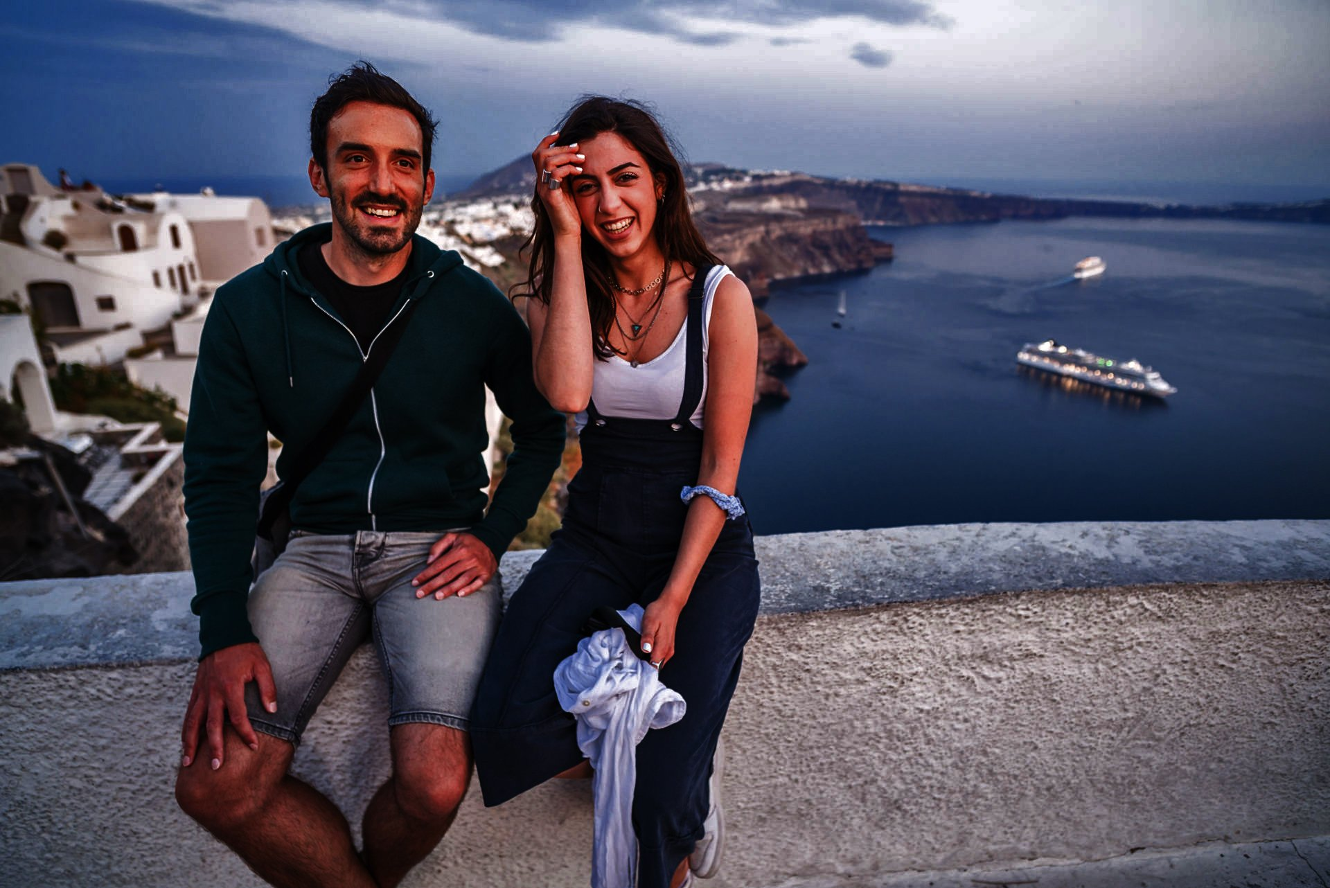 Collect Memories On Ther Join Us To The Night Hike, Wine Tasting & Dinner Experience In Santorini_92
