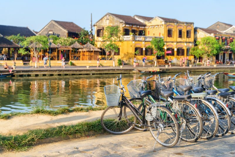 Cycle Through The City Of Hoi An On The Wonders Of Vietnam, Cambodia & Thailand 15 Day Package Tour