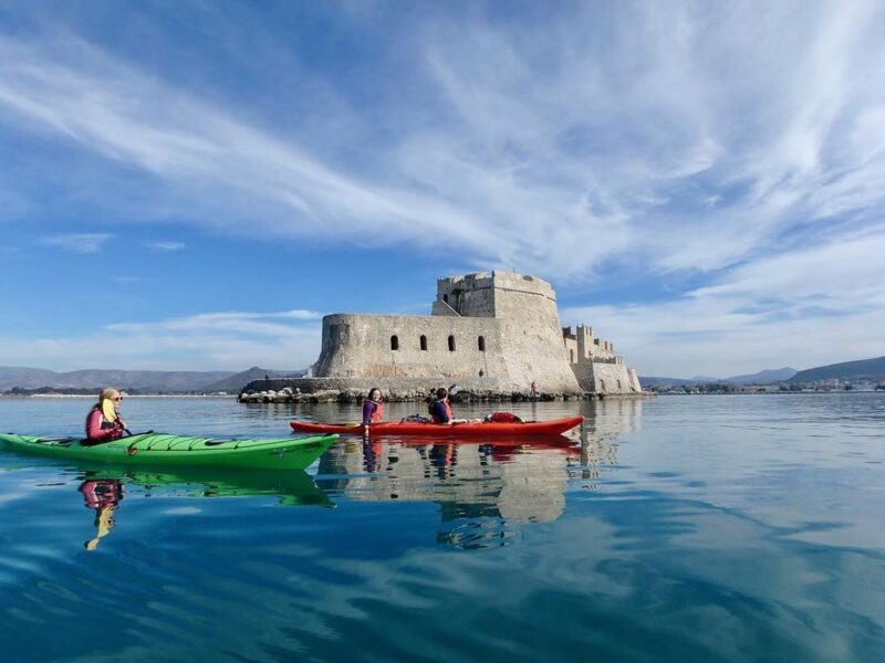Discover Nafplio On Sea Kayak On The 6 Day Classic Greece Self- Driving Adventure Package Tour_70