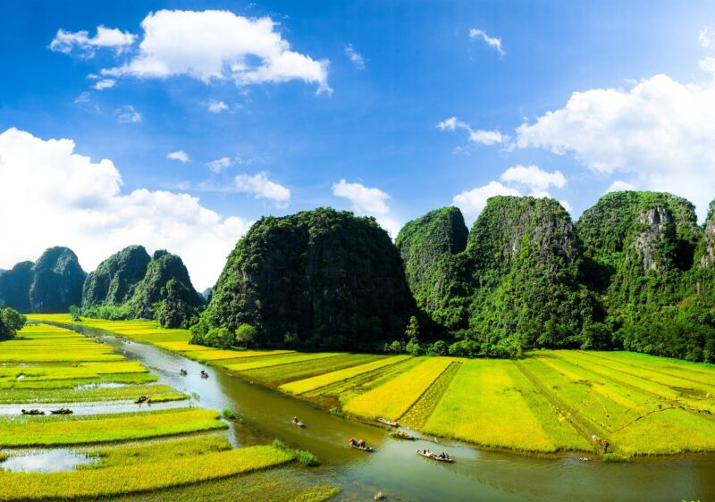 Discover Tan Coc On The Golden Triangle Of Indochina 10 Day Package Tour (vietnam - Laos - Cambodia)