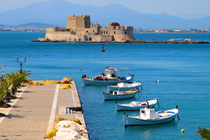 Discover The Peloponnese On The 6 Day Classic Greece Self- Driving Adventure Package Tour