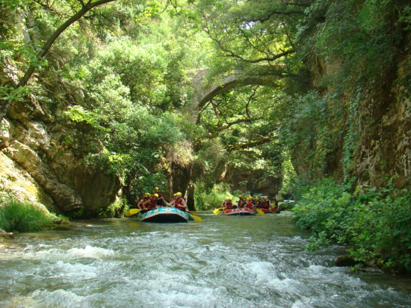 Discover The Beautiful Landscape On The Lousios River Rafting Tour From Vlachorraptis Village_99