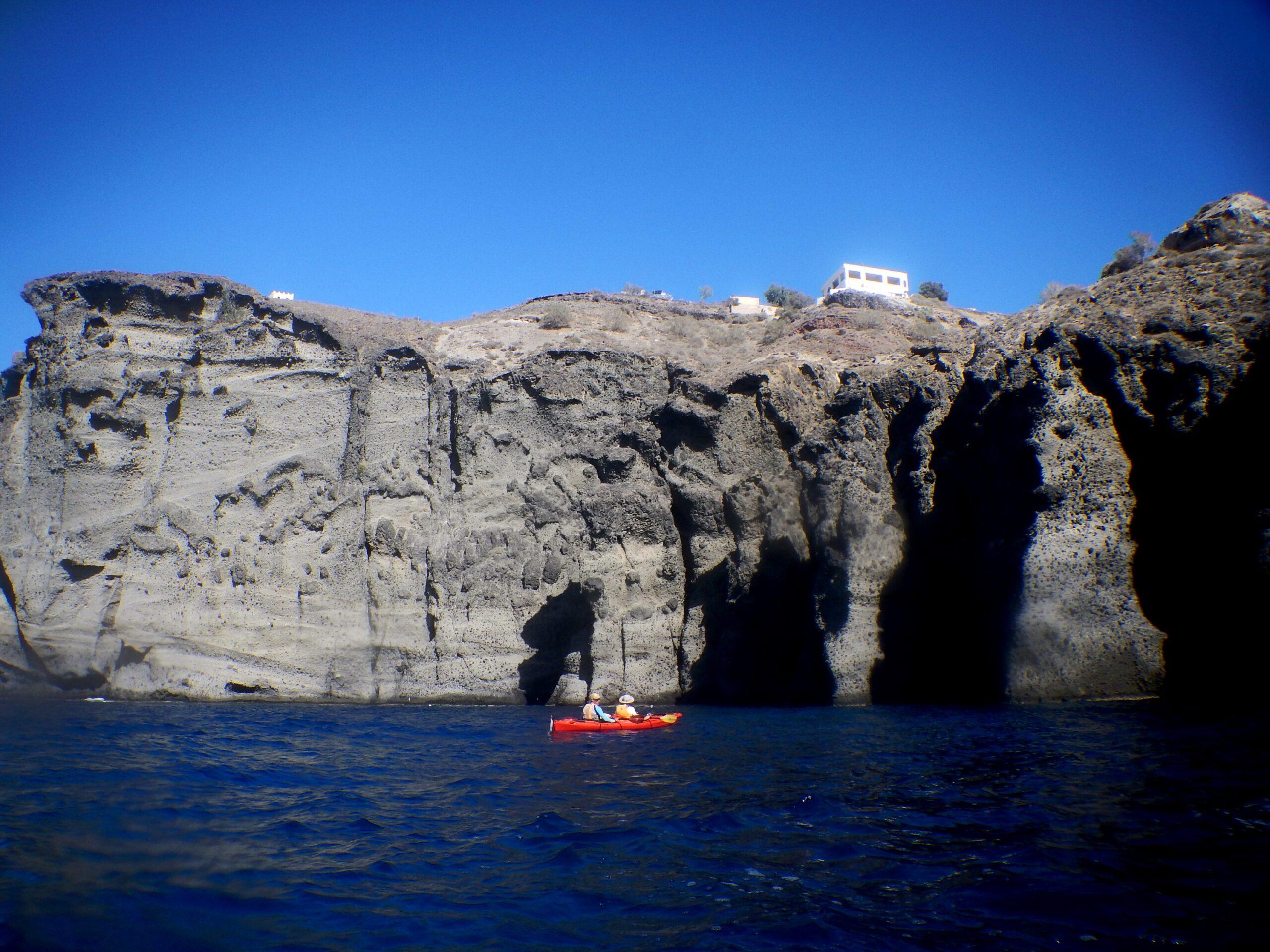 Discover The Beautiful Waters Of Santorini On The Morning Sea Kayak & Snorkeling Tour In Santorini_92
