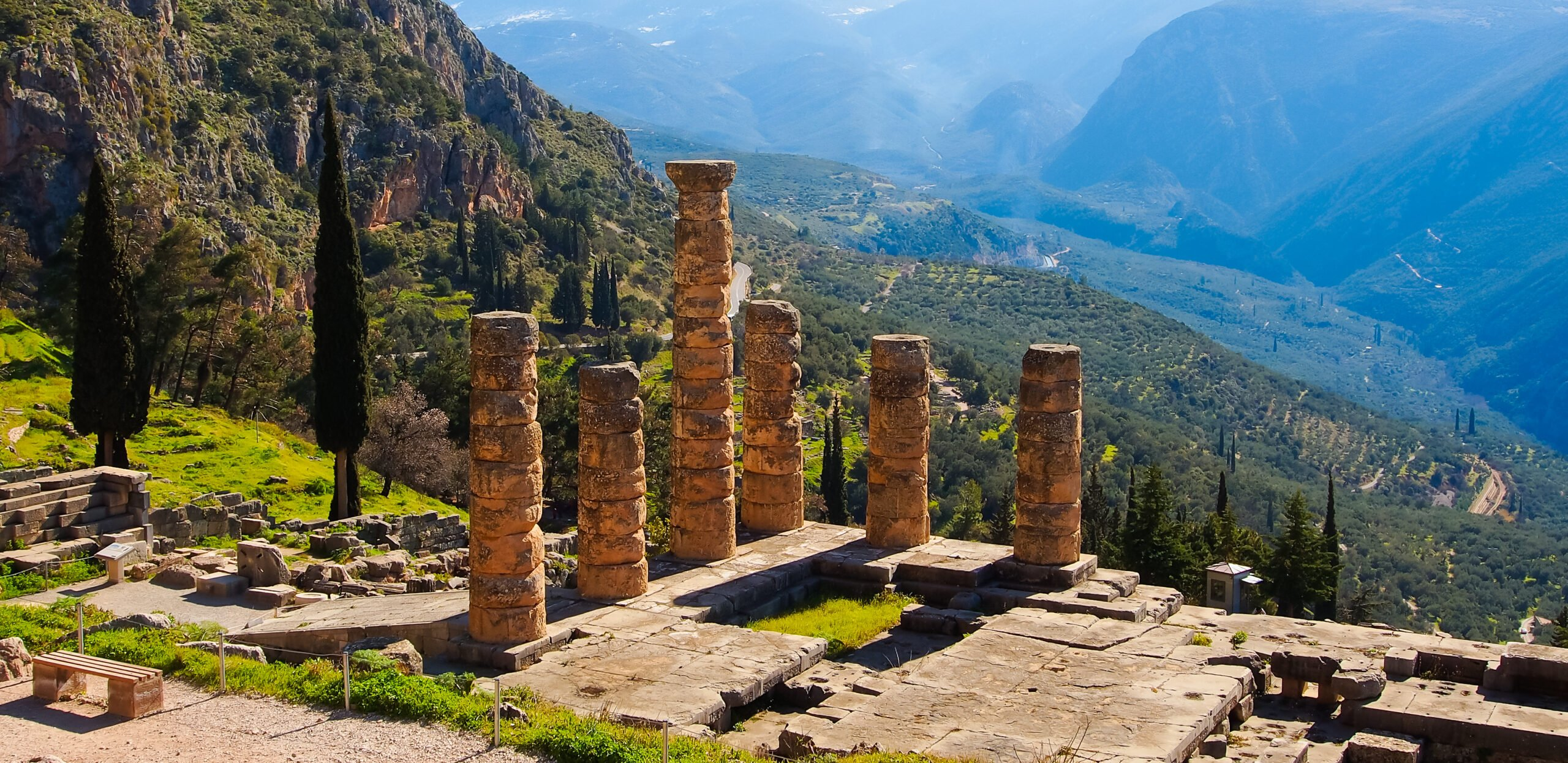 Discover The Ruins Of Delphi On Our 9 Day Secrets Of Ancient Greece Tour Package