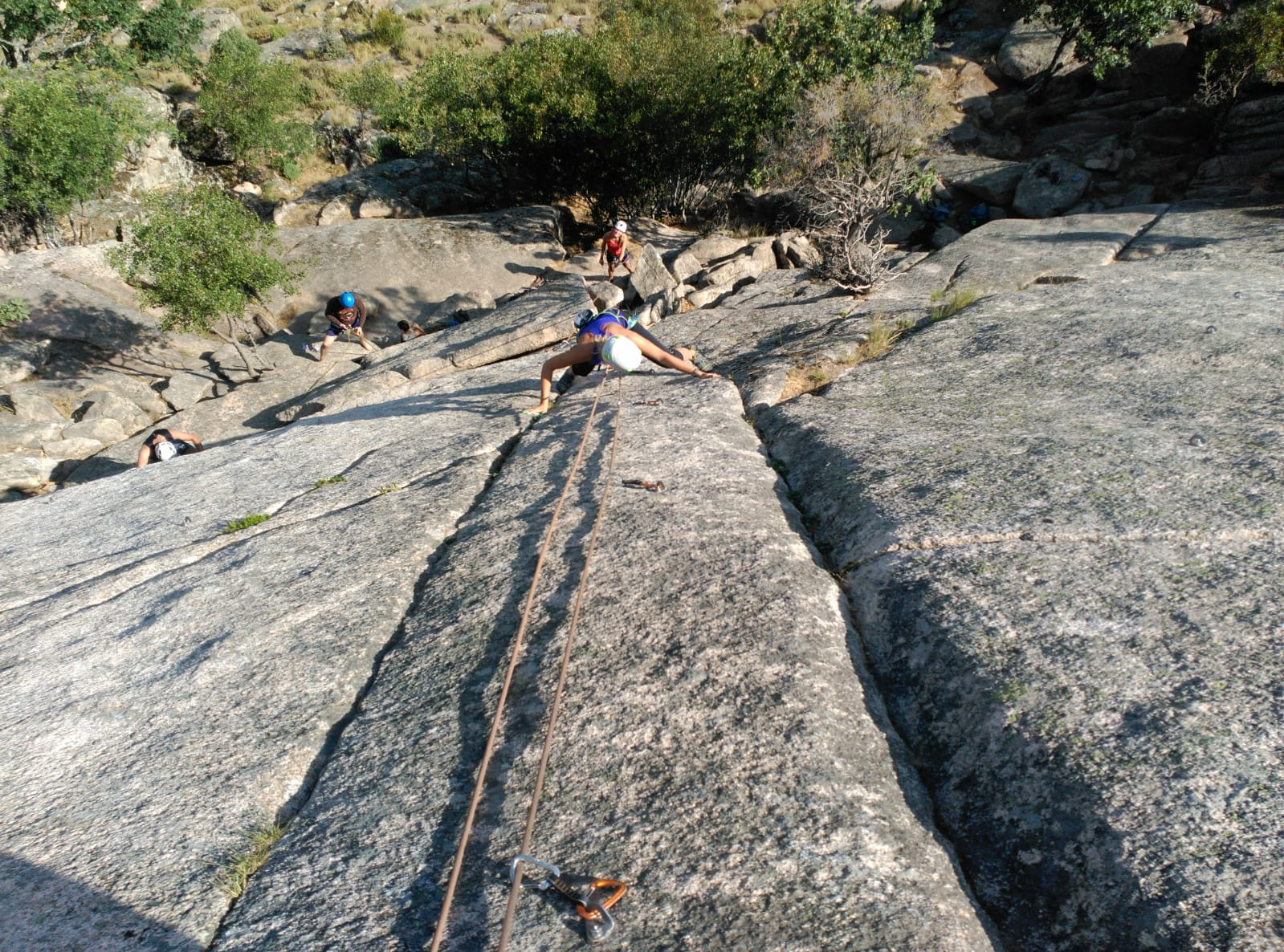 Discover With Our Certified Climbing Guides And Instructors The Best Outdoor Locations For Rock Climbing In Madrid Area In Our Guadarrama National Park Rock Climbing Tour From Madrid