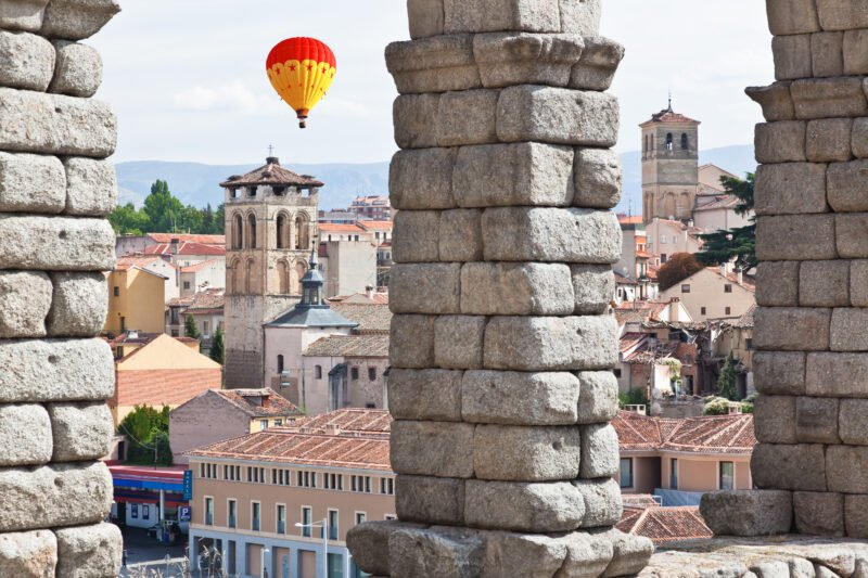 Enjoy A Special Local Breakfast In Our Hot Air Balloon Experience In Segovia From Madrid