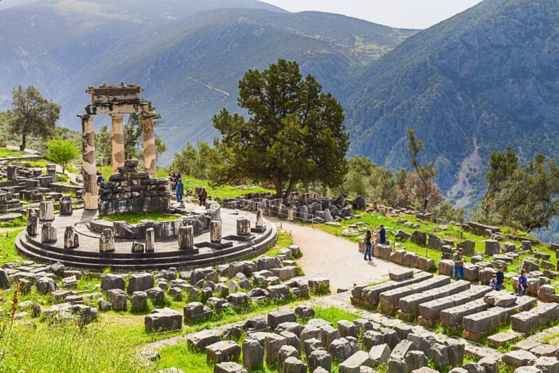 Enjoy A Tour Of Delphi And A Hike In The Area During Your Classic Greece 6 Day Adventure Package Tour