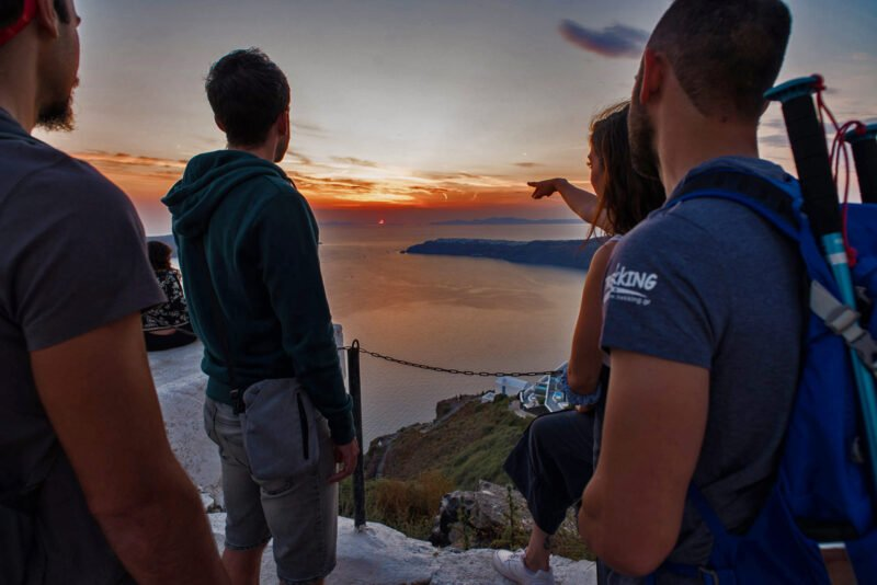 Enjoy The Beautiful Views On The Join Us To The Night Hike, Wine Tasting & Dinner Experience In Santorini_92