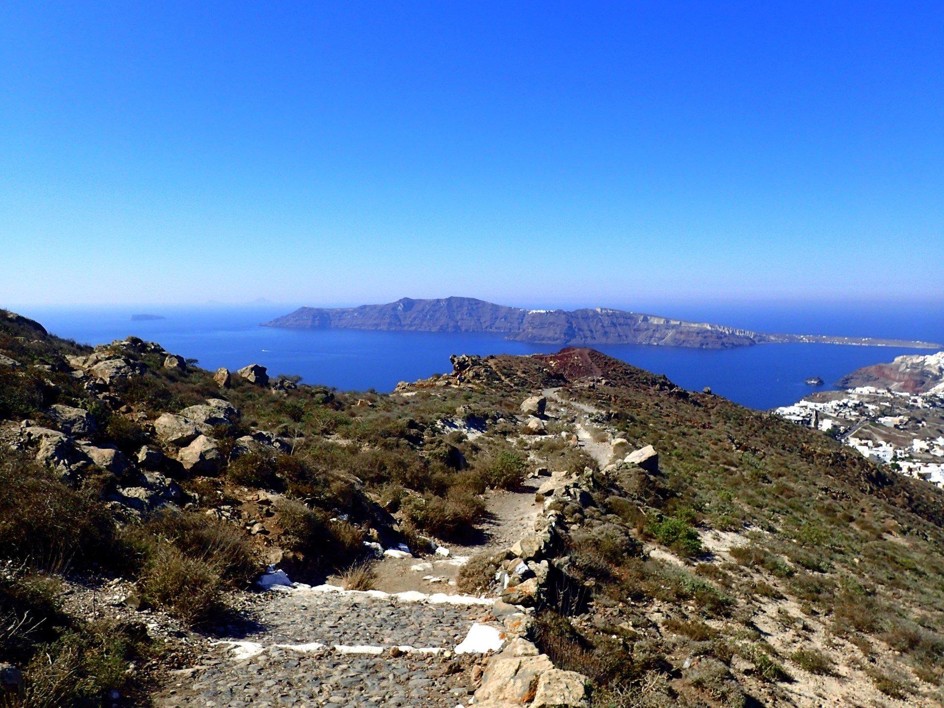 Enjoy The Beautiful Views On Ther Caldera Hike & Sunset Tour In Santorini_92