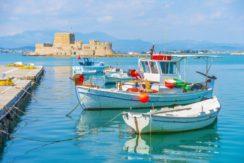 Enjoy Your Time In Nafplio On Your Classic Greece 6 Day Adventure Package Tour
