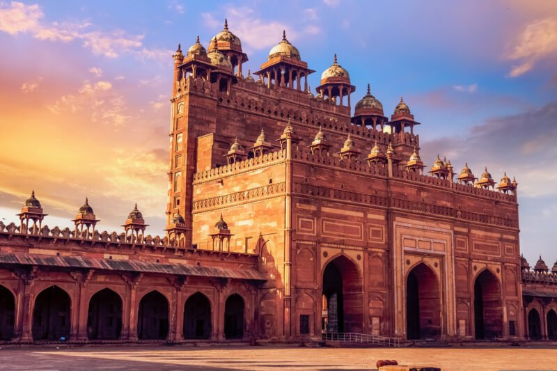 Explore Fatehpur Sikri, The Magnificent Capital Built By Akbar In Our 5 Day Best Of Rajasthan Including Taj Mahal