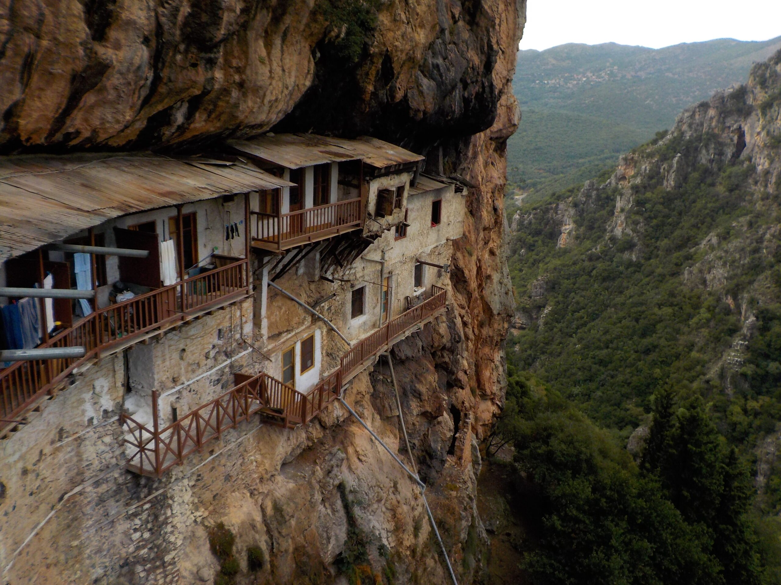 Explore The Hanging Monastery On The Lousios Gorge Hiking Tour From Gortyn_99