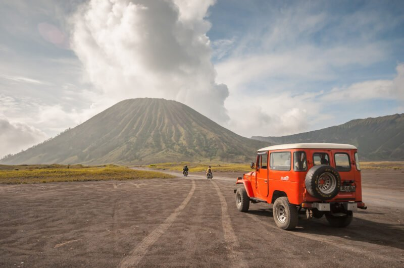 Jeep Ride In Our Mount Bromo Midnight Tour