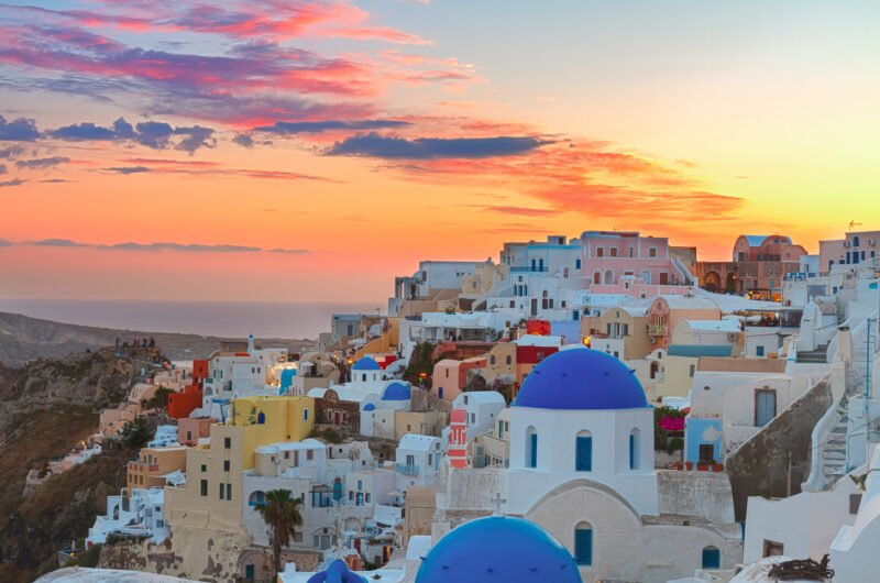 Join Us To The Caldera Hike & Sunset Tour In Santorini
