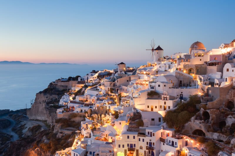 Join Us To The Night Hike, Wine Tasting & Dinner Experience In Santorini