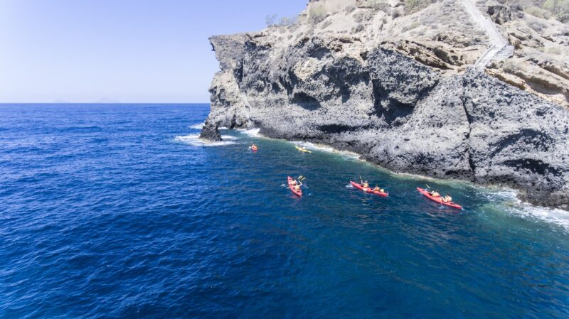 Join Us To The Sunset Sea Kayak & Snorkeling Tour In Santorini_92