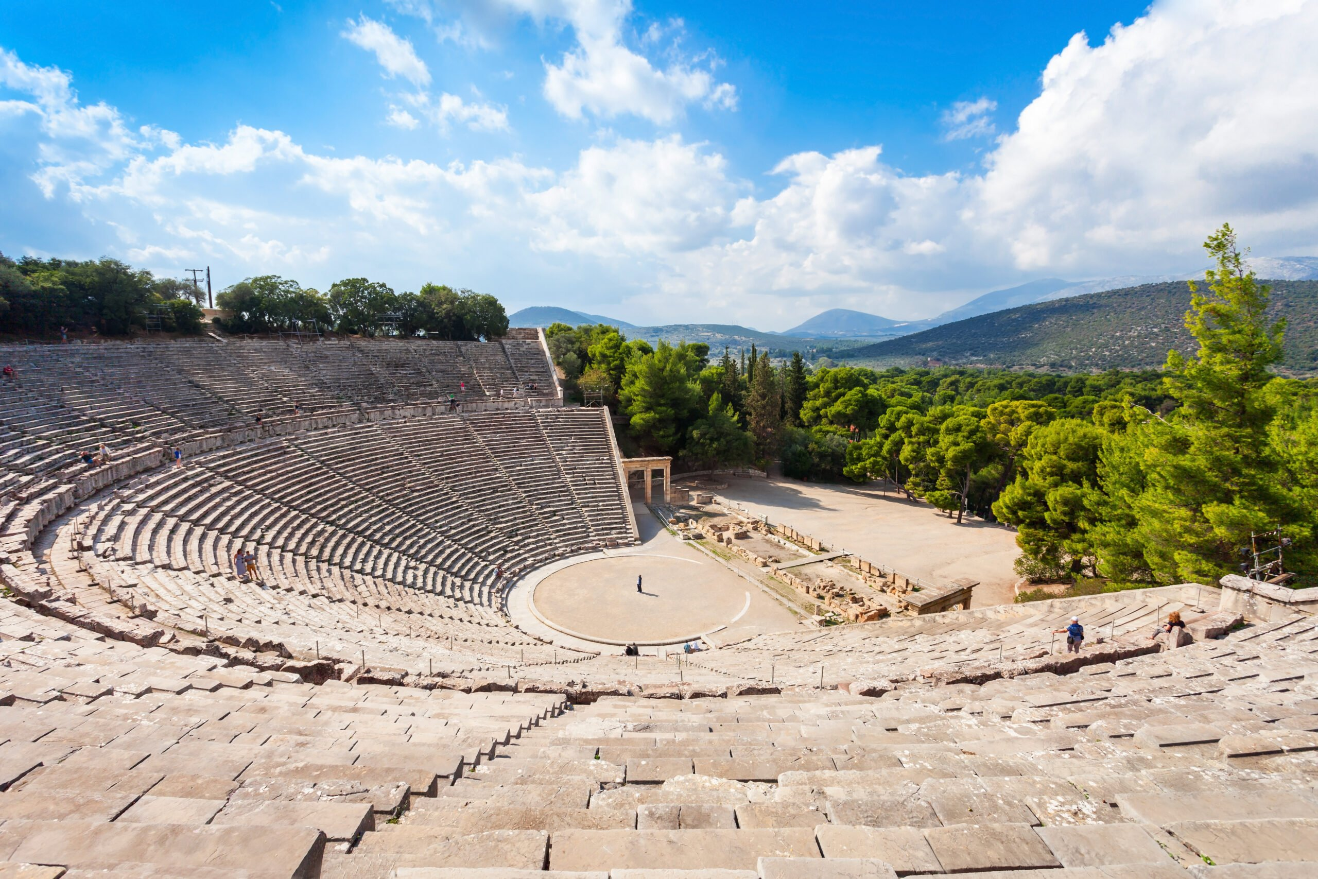 Marvel The Beautiful Theatre Of Epidaurus On The Classic Greece 6 Day Adventure Package Tour