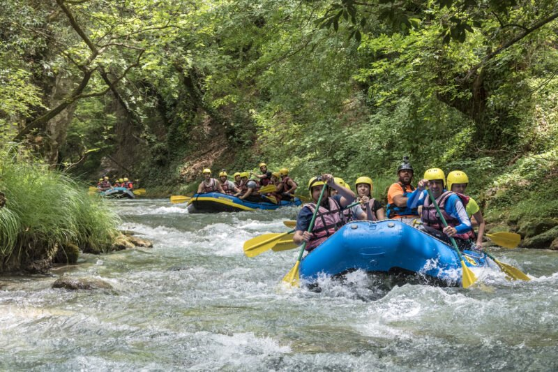 Our Lousios River Rafting Tour From Vlachorraptis Village Is Fun For The Entire Family_99